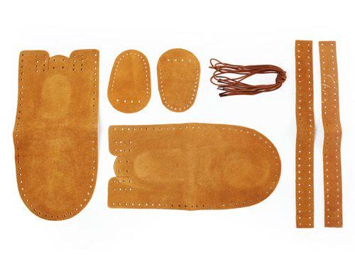 Diy moccasins, Leather craft