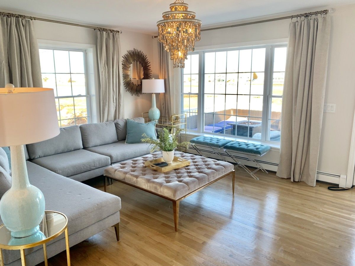 new house tour calm and quiet with cool colors on the on living room color inspiration id=80156