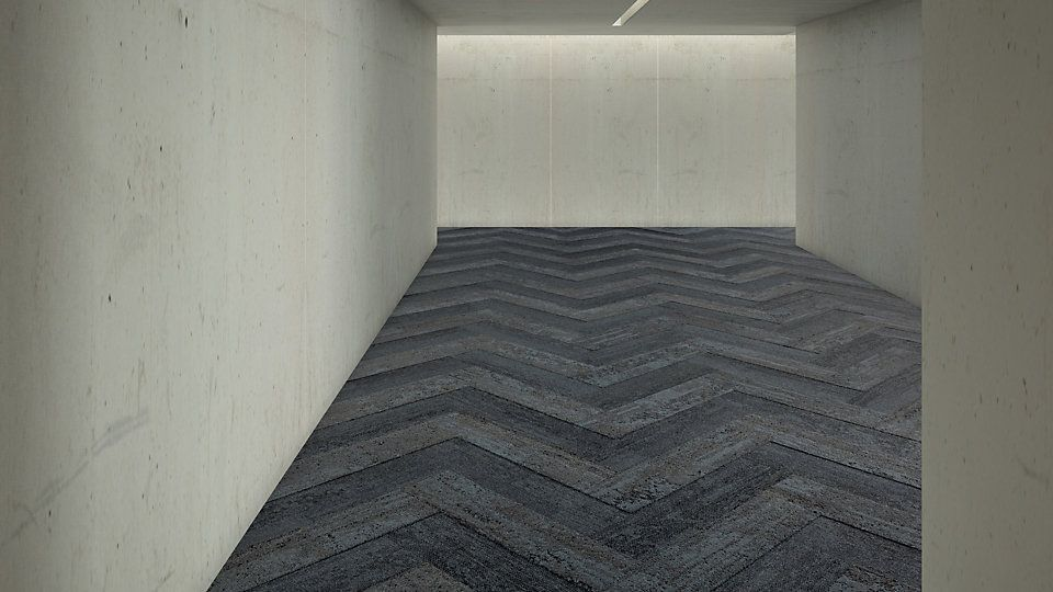 Interface Flor Carpet Tiles In Zig Zag Design Collection Human