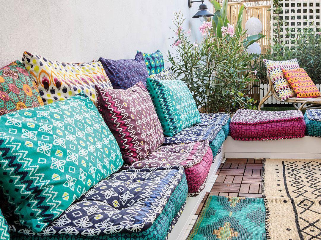 Una Terraza Decorada Con Encanto Boho Chic Jardins Boho