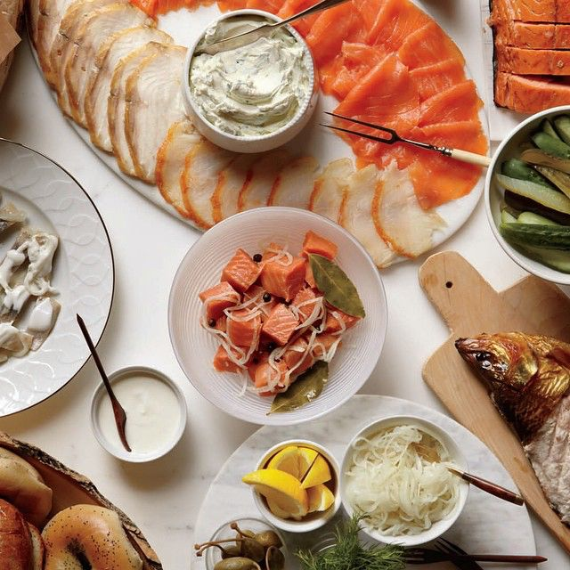Russ & Daughters Cafe is open for break-the-fast tonight: 6PM-10PM. Wishing all the best for the new year, to your family, from our family.