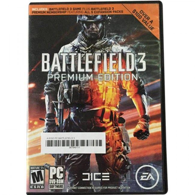 Juego PC Battlefield 3 Premium Edition - Juegos de Consola - TV, Consolas y Juegos - Tecnología - Sensacional