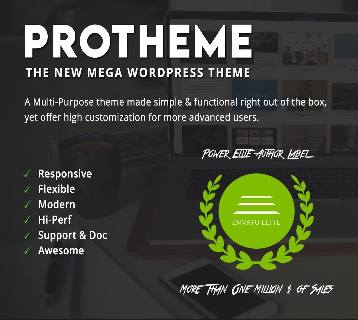 Download Protheme – Powerful & Flexible Mega WordPress Theme ...