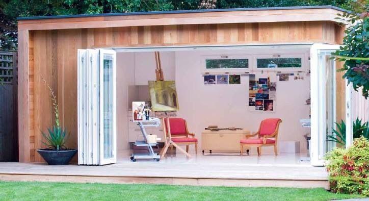 Ufficio In Legno Da Giardino : Garden loft by casette italia http: www.casette italia.it casette