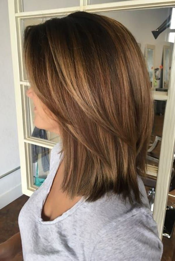 10 Brightest Medium Length Layered Hairstyles for a Memorable New Year