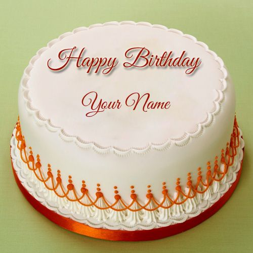 Birthday Celebration Real Cake With Your NameName Birthday Cake - Real birthday cake images