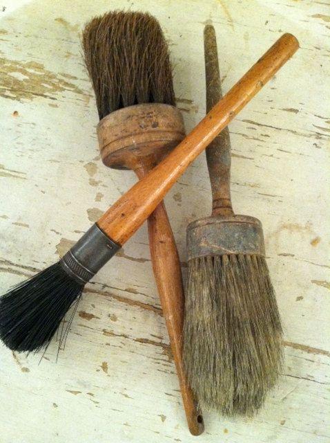 Vintage Paint Brushes Decoratie