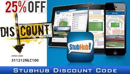stubhub coupon code june 2019