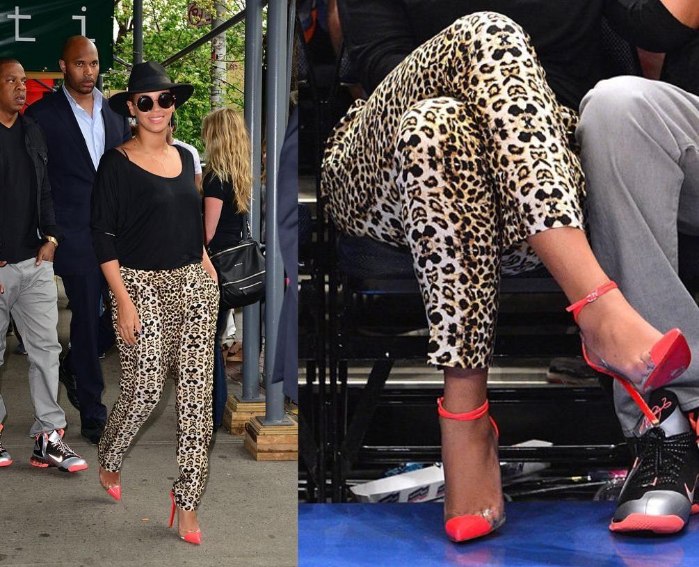 Beyonce \u003c3   Fashion, Clear heels