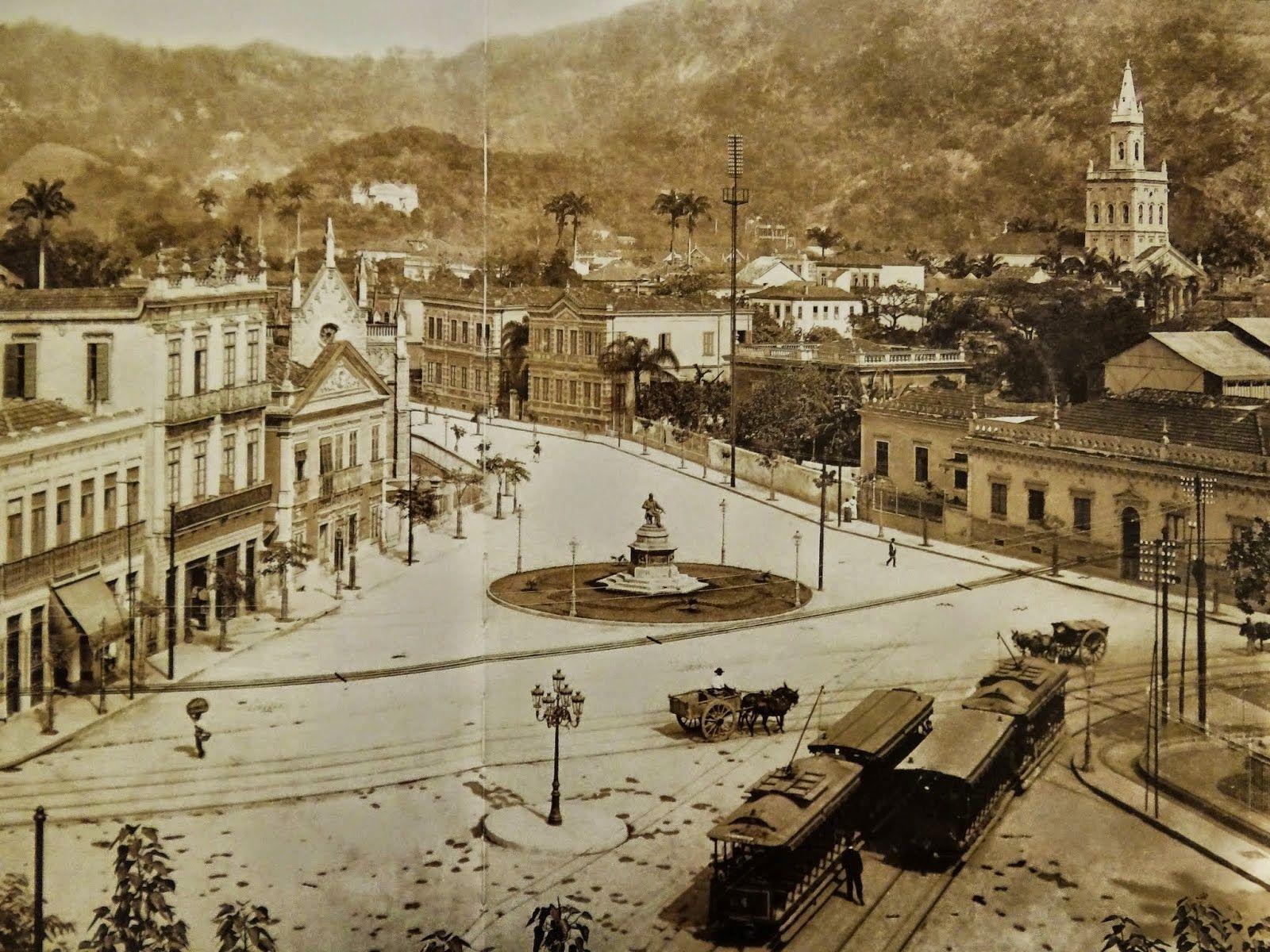 RCAV BLOG DO RIO ANTIGO: PRAÇA JOSÉ DE ALENCAR - CATETE 1900   Rio ...