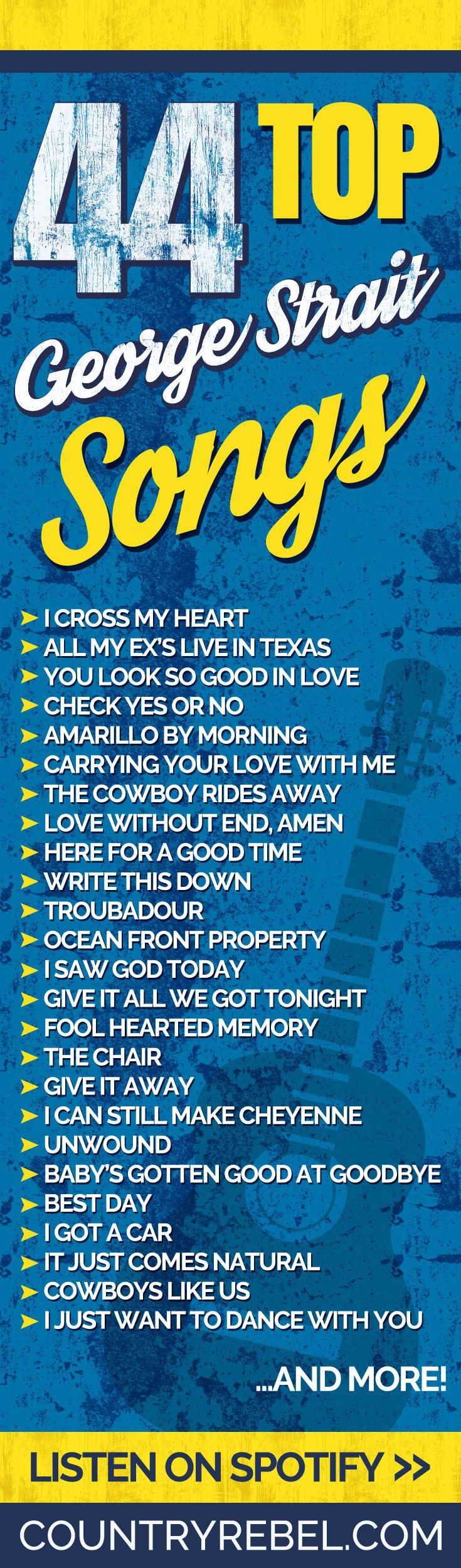 44 top george strait songs you 39 ll love without end in 2019 music lyrics country music. Black Bedroom Furniture Sets. Home Design Ideas
