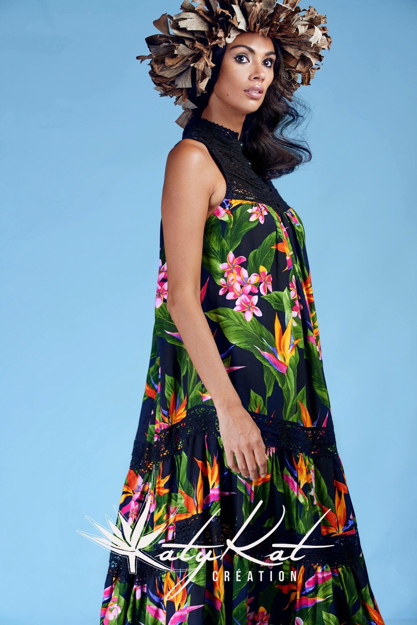 201 Pingl 233 Par Mihi Kaimuko Sur Polynesians Dresses Robe