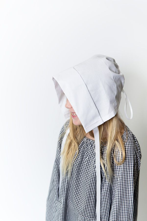 efaacf8a21c No-Sew Pilgrim Hat from a Kitchen Towel
