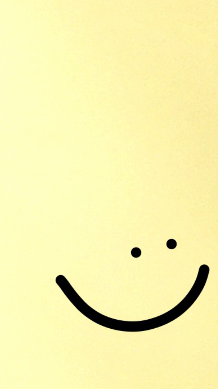 Smile Smile Yellow Cute Background Yellow Background Homescreen Wallpaper Wallpaper Backgrounds
