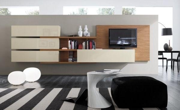 designer wohnung italienische m bel wohnwand schiebet ren. Black Bedroom Furniture Sets. Home Design Ideas
