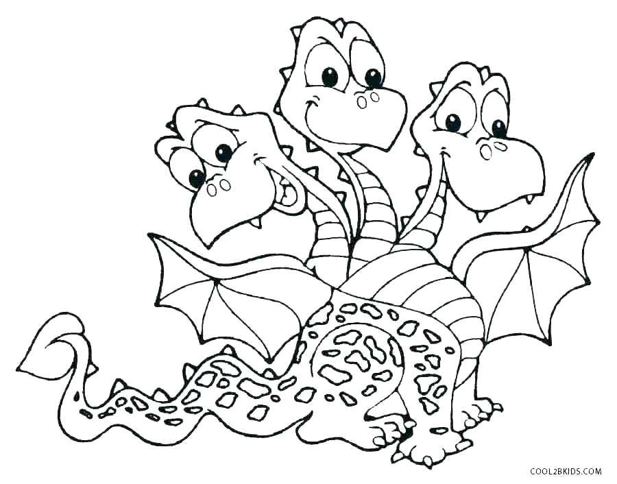 Idea Flying Dragon Coloring Pages For Free Dragons Toothless 3