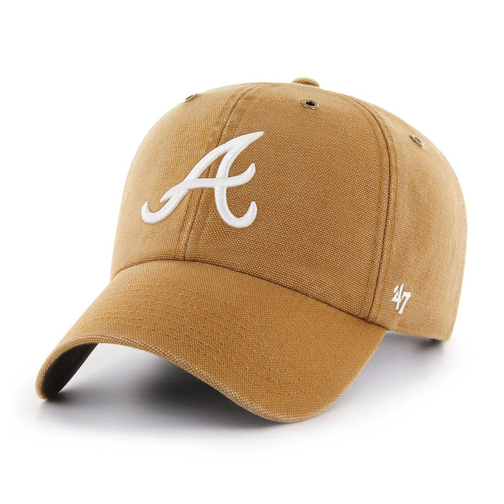 huge selection of d2a96 dbb67 ATLANTA BRAVES CARHARTT X  47 CLEAN UP    47 – Sports lifestyle brand    Licensed NFL, MLB, NBA, NHL, MLS, USSF   over 900 colleges. Hats and  apparel.