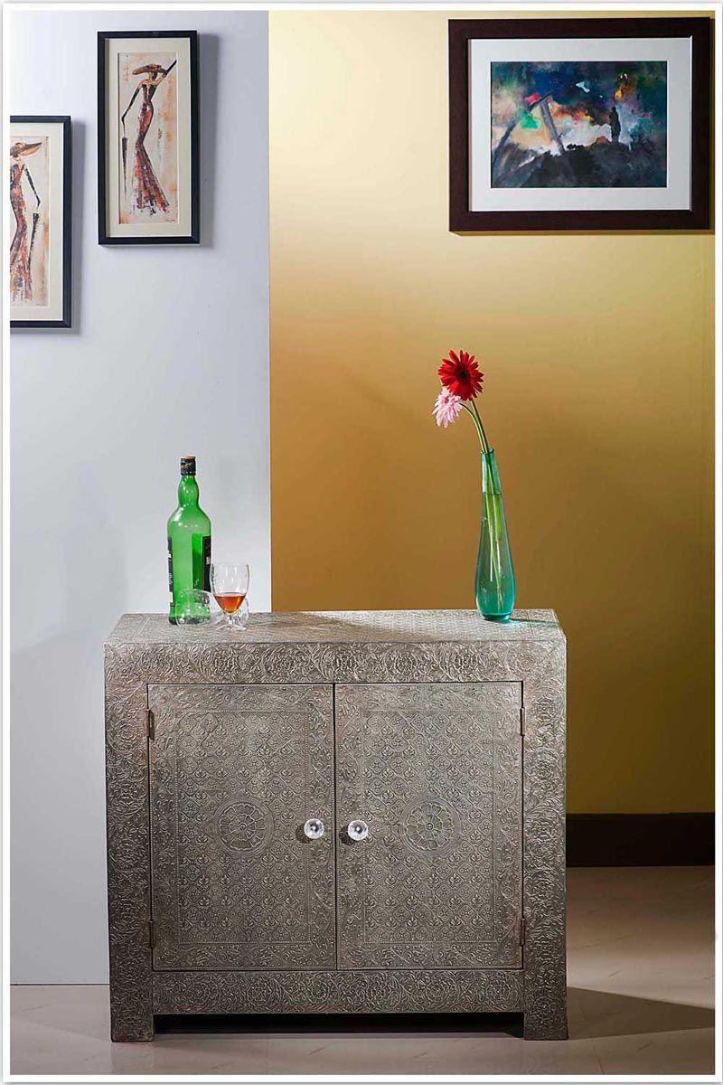 Buy Embossed White Metal Furniture Online  Metal Chest of  Drawer Sideboard Dresser. Buy Embossed White Metal Furniture Online  Metal Chest of Drawer
