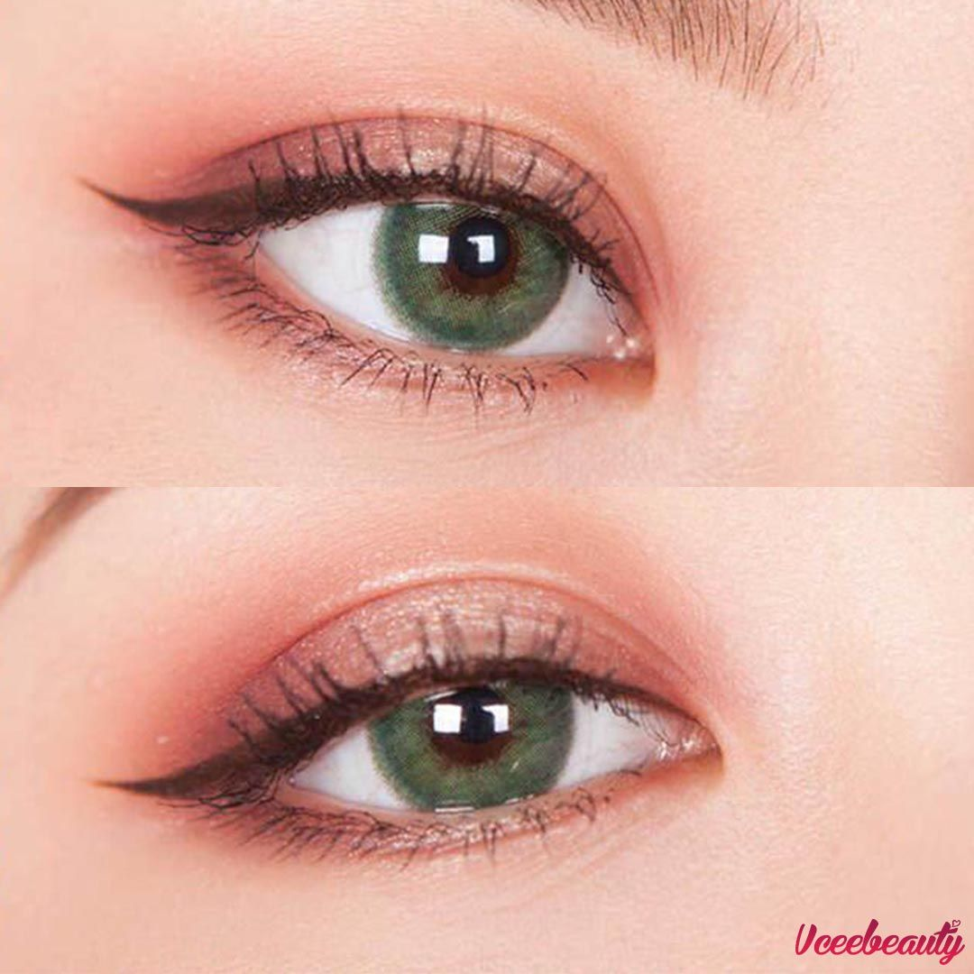 Newarrivals Cleopatragreen Contact Lenses Try This Green Eyelook Cover And Blend In Well Sh Contact Lenses Colored Circle Lenses Contact Lenses Online