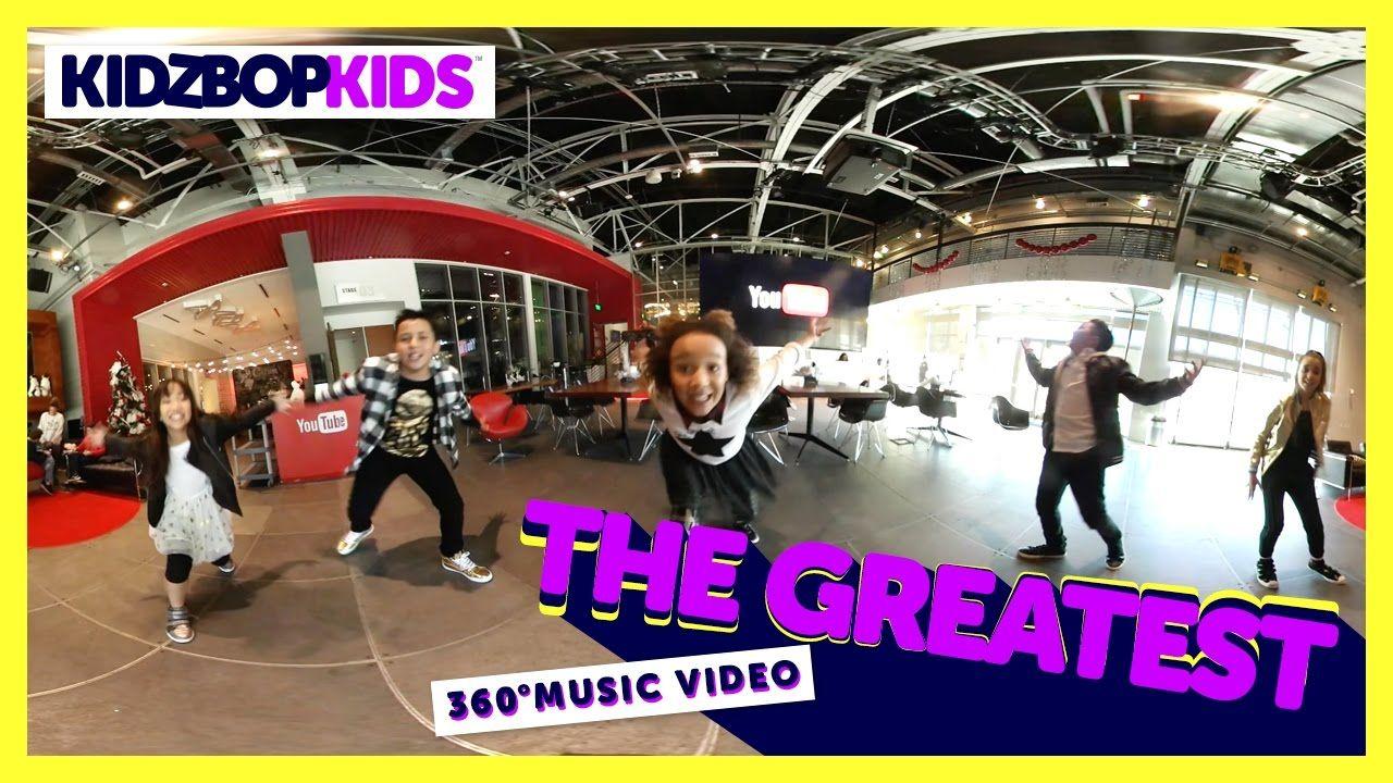 KIDZ BOP Kids - The Greatest (360° Official Music Video) [KIDZ BOP