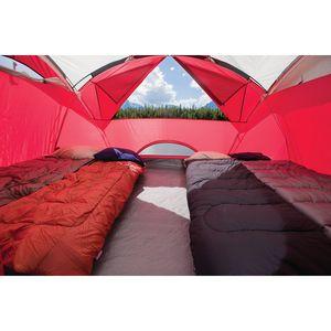 coleman cimmaron 8 person modified dome tent