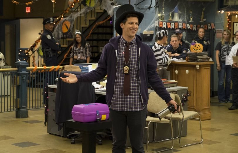 Brooklyn Nine Nine S Halloween Heist Is On Video With Images