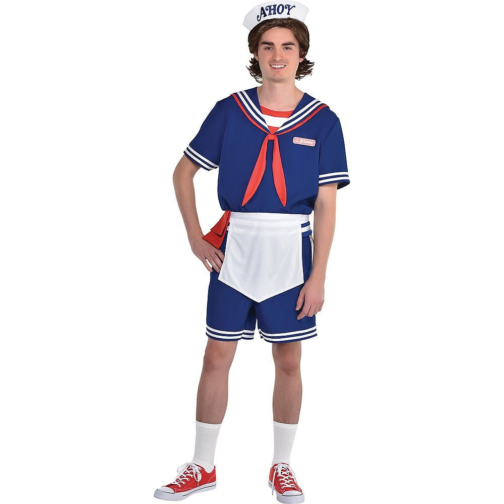 STRANGER THINGS PHOTO PROPS Halloween Party Decoration Eleven Dustin Robin Steve