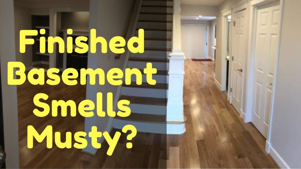 It feels odd that your finished basement smell musty or
