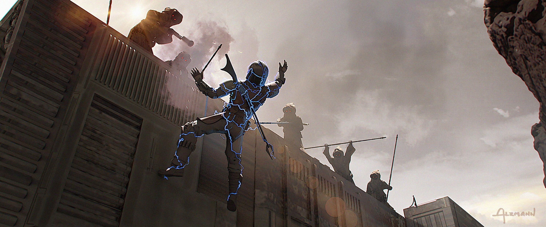 The Mandalorian Tv Series Concept Art 1080p Wallpaper Hdwallpaper Desktop Concept Art Mandalorian Star Wars Art