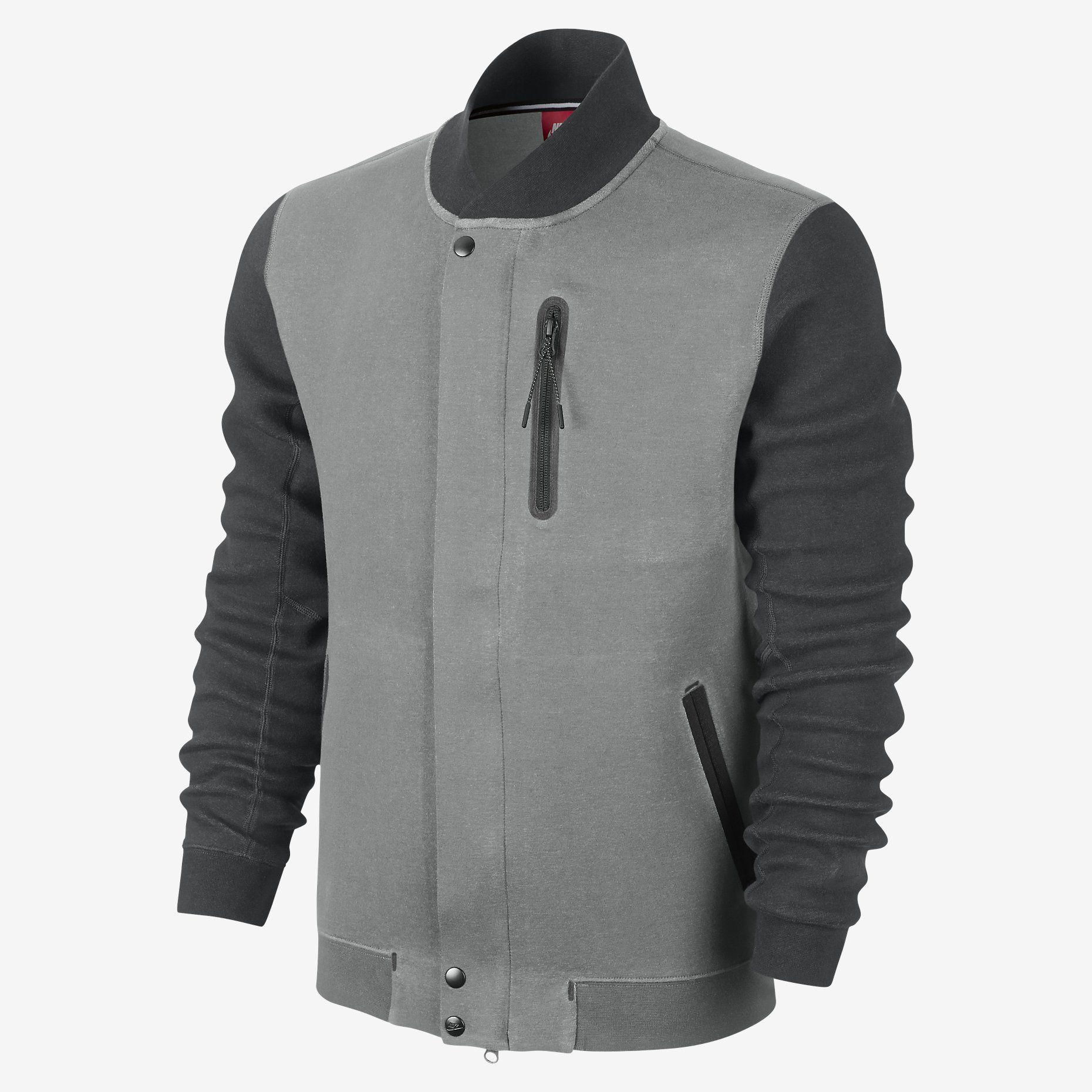 quality design 8afb4 b60de Nike Tech Varsity 3mm Mens Jacket. Nike Store