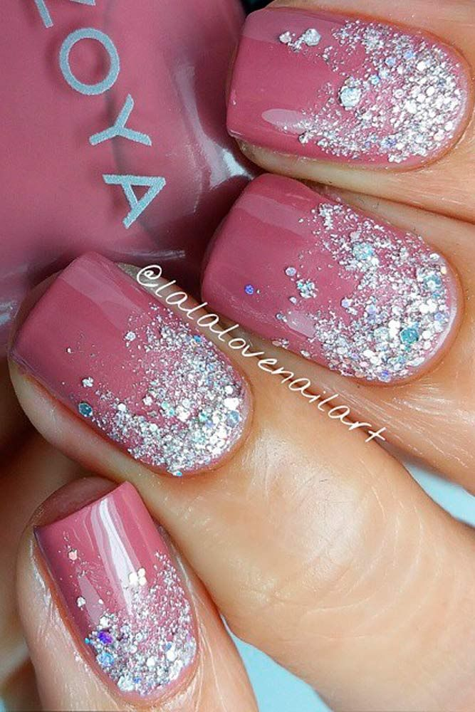 Daily Charm: Over 50 Designs for Perfect Pink Nails - Cute Light Pink Nails #7 Perfect Pink, Pink Nails And Artificial Nails