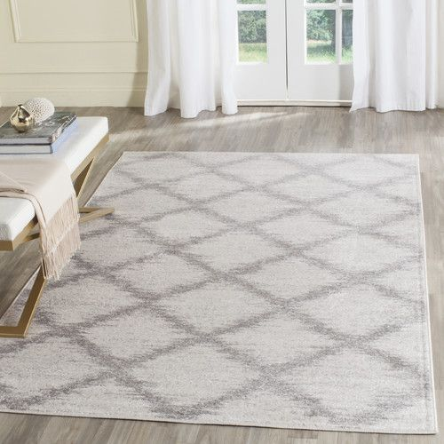 St. Ann Highlands Ivory/Silver Area Rug #birchlane $224 for 8x10