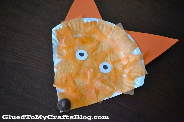 Dr. Seuss inspired - paper plate Fox {Kid Craft#craft #fox #inspired #kid #paper #plate #seuss