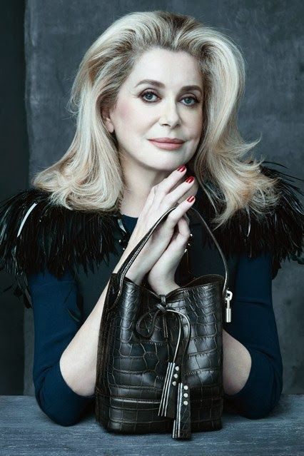 COUP DE COEUR: LOUIS VUITTON SS 2014 CAMPAIGN MARC JACOBS' MUSES STAR IN THE FINAL ACCESSORIES CAMPAIGN OF HIS TENUE AT LOUIS VUITTON. CATHERINE DENEUVE