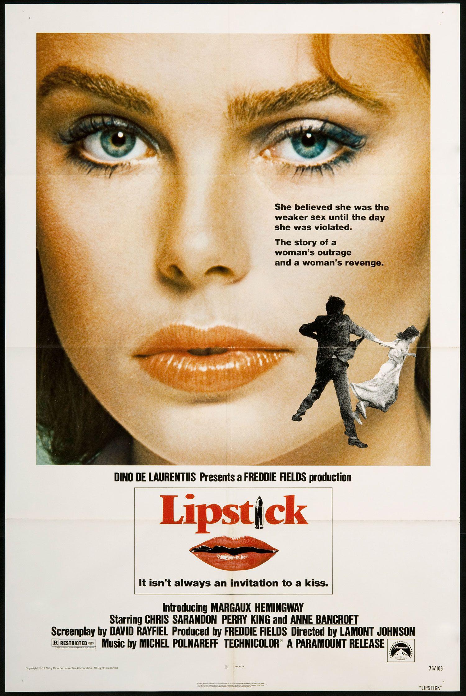 LIPSTICK (1976)   Margaux hemingway, Carteles de películas