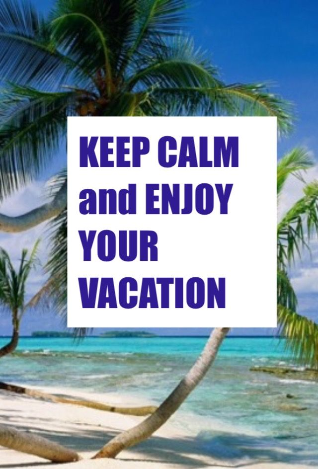 Enjoy Your Vacation Images, Stock Photos & Vectors | Shutterstock