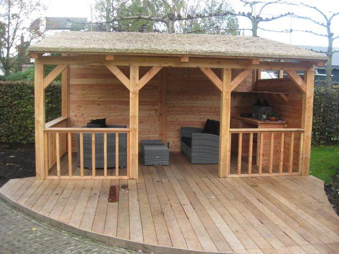 Veranda met houten vloer google zoeken garden pinterest porches met and verandas - Hout pergola dekking ...