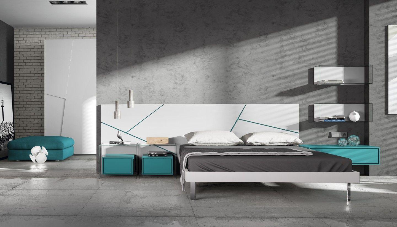Lo ltimo de emede mobles en dormitoriomoderno selleva el blanco y