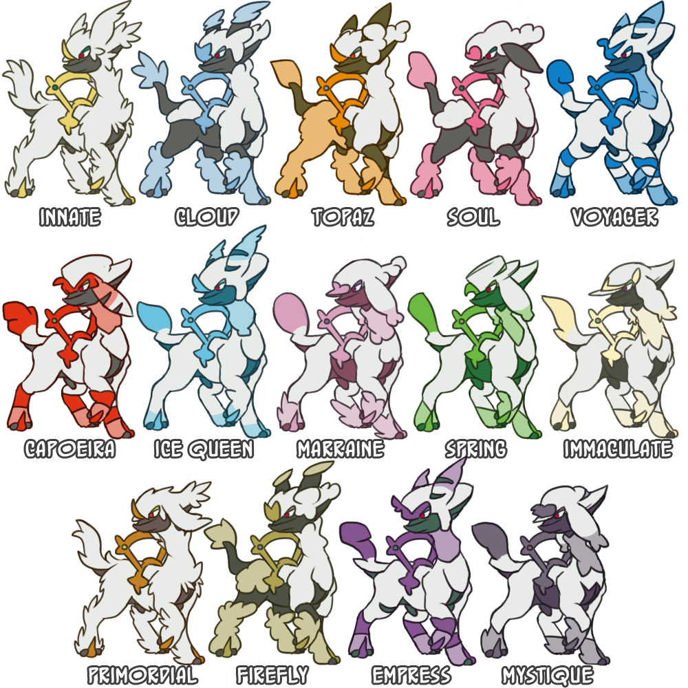 Pokemon Bracket Fusion Project  Arceus Furfrou  Pokemon Go
