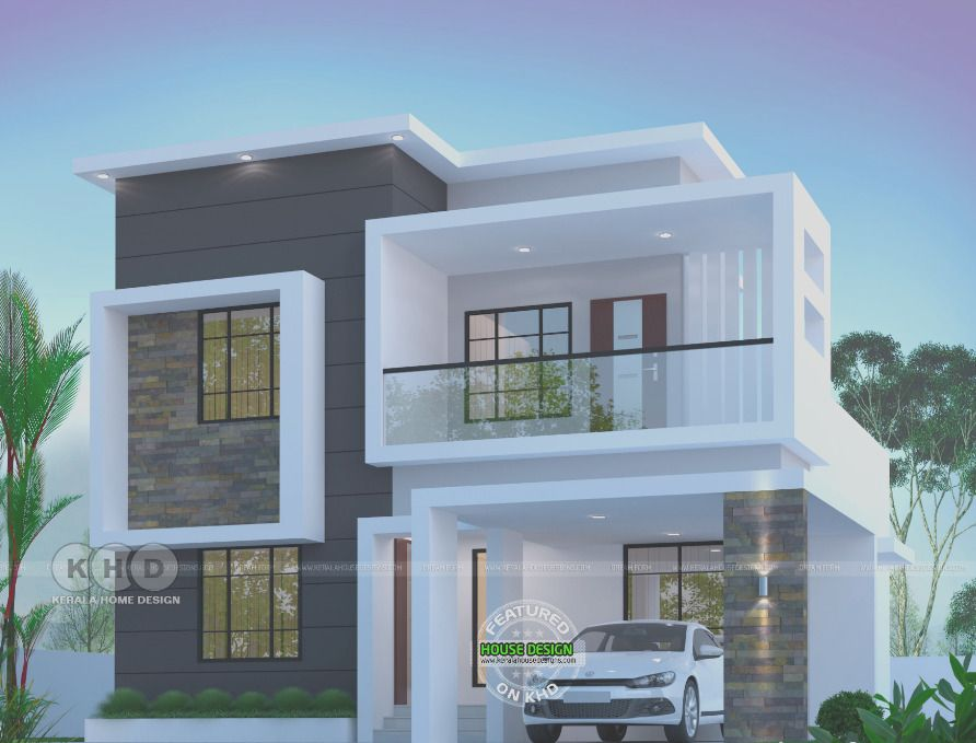 45 Modern Architecture House Design Ideas 2020 In 2020 Modern Exterior House Designs Kerala House Design Modern Bungalow House Design