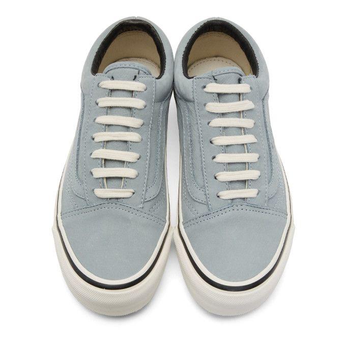f0bfa888e2f7 Vans - Blue Nubuck OG Old Skool LX Sneakers