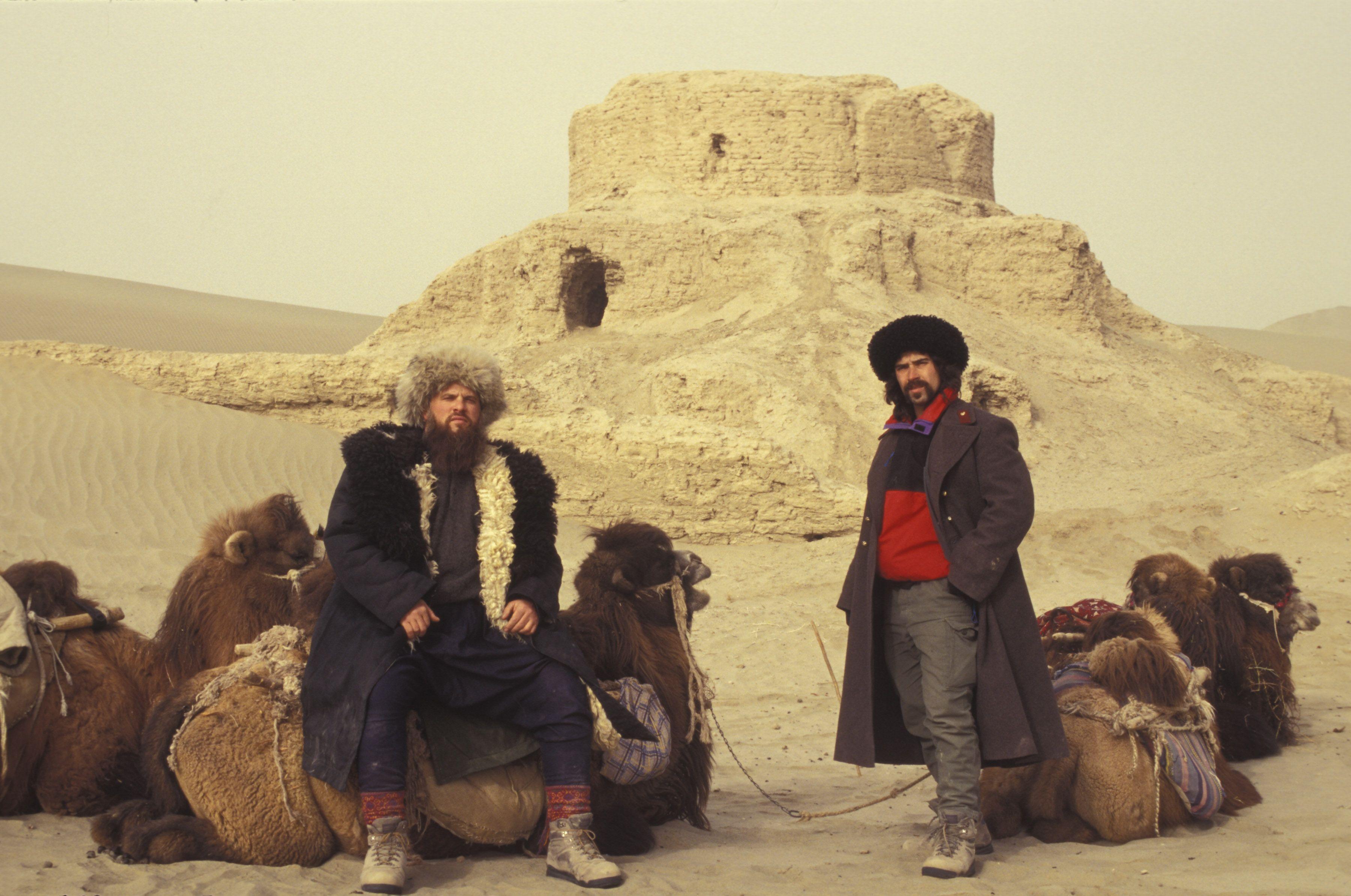Taklamakan Desert Xiujiang Province Marco Polo Taklamakan Desert
