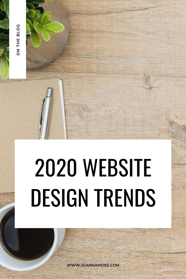 2020 Website Design Trends in 2020 Website design