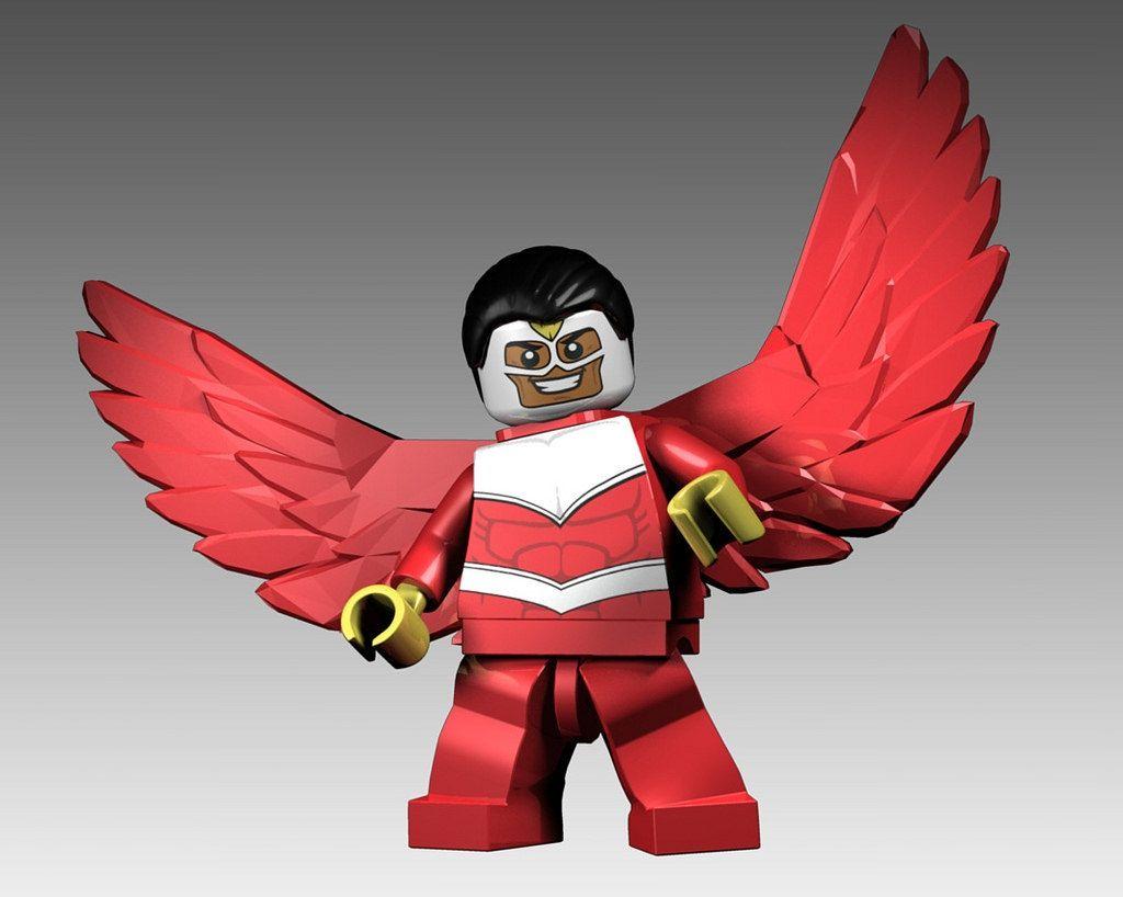 Marvel Lego Falcon