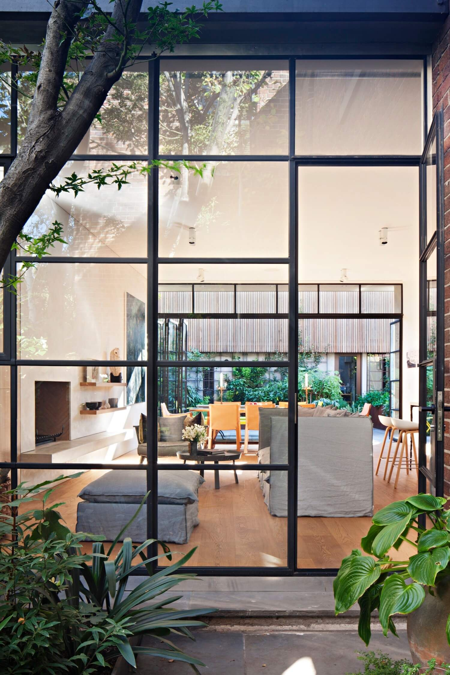 Outdoor Space | South Melbourne Home by Inglis Architects | est living