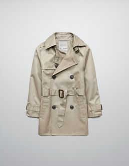 Lined Trench Coat Zara Boys Coat Stylish Kids Outfits