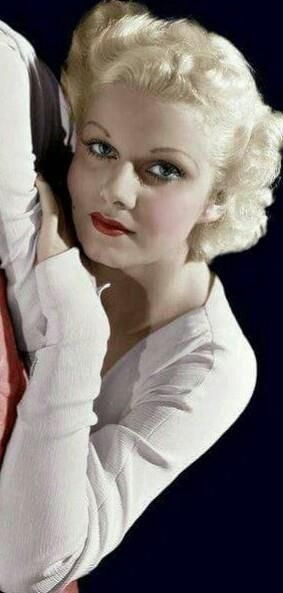 "Jean Harlow- in the 30s the style was super thin and round eyebrows. I pinned this because of how greatly it contrasts they eyebrows that people consider ""stylish"" today"