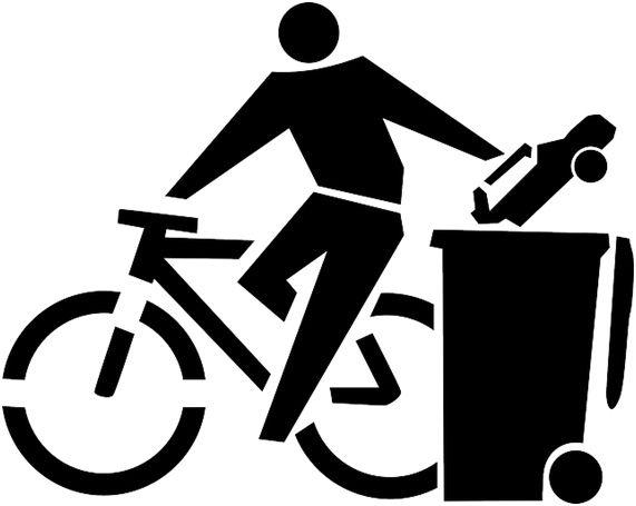 Nao Rode Em Sp Va De Bicicleta Bicicleta Desenho Vetorial