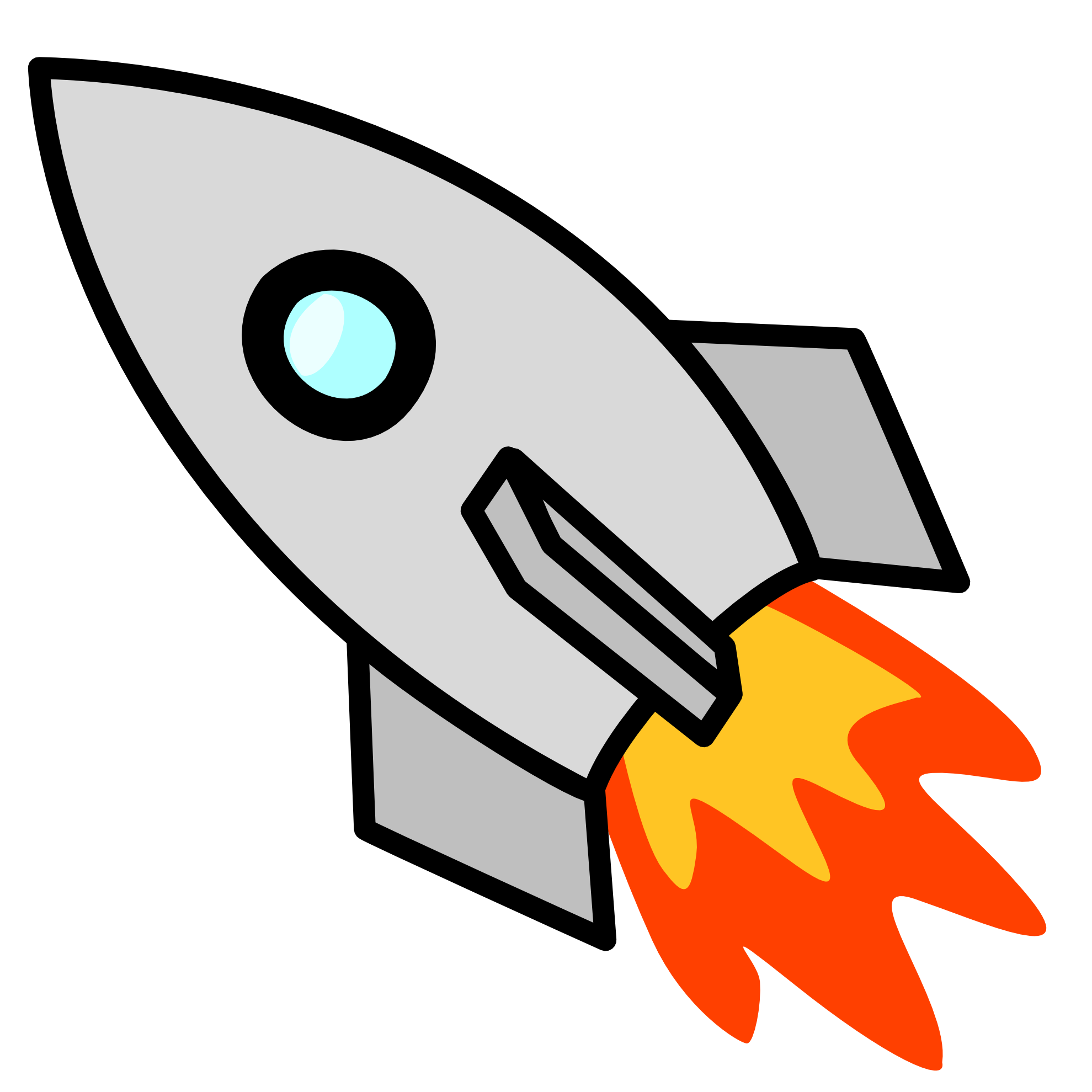 1979x1979 Rocket Clipart Black And White Free Clipart Images Clip Art Free Clip Art Cute