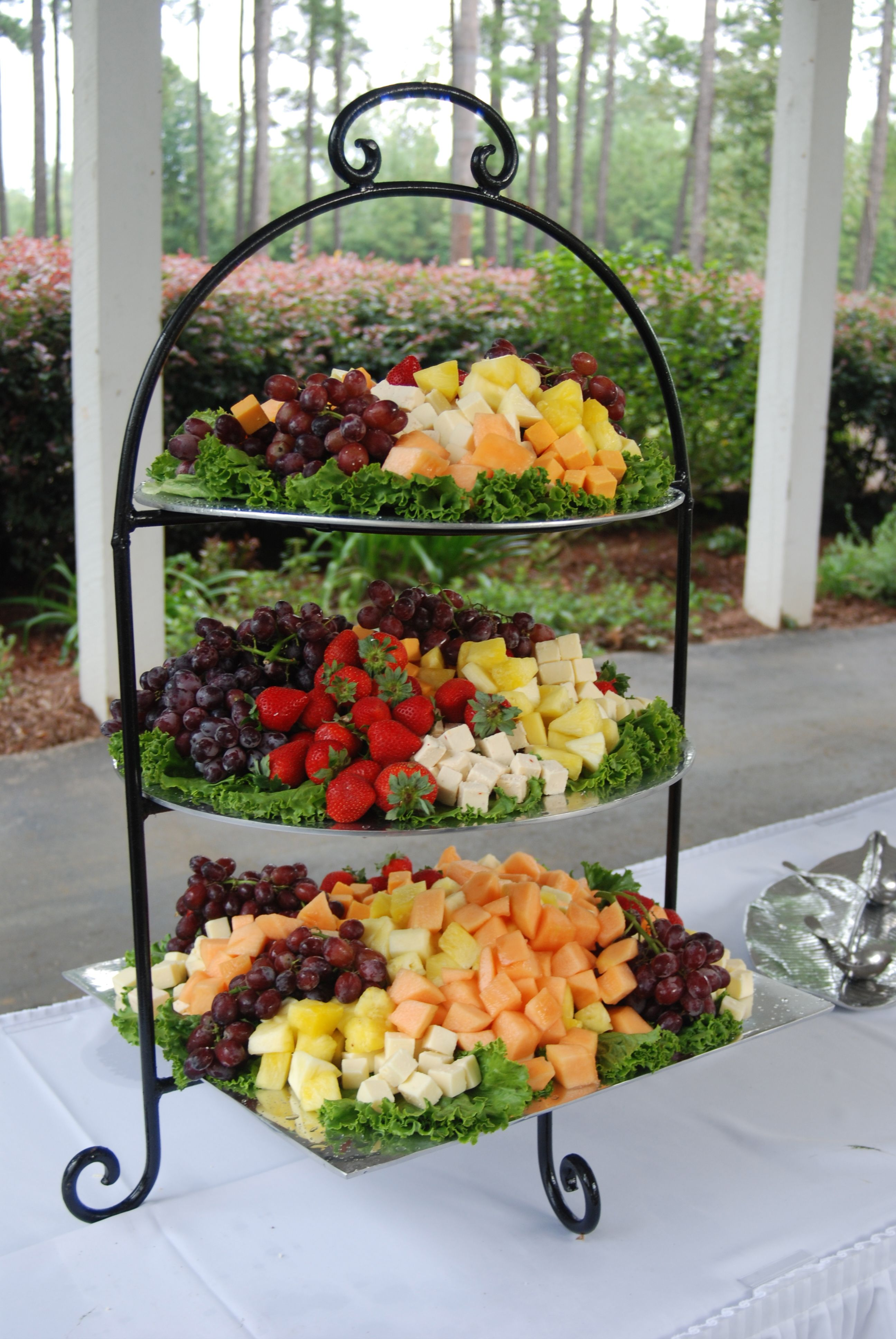 Randy Ziegler Party Ideas Pinterest Fruit Displays Display  # Canape Angle Randy